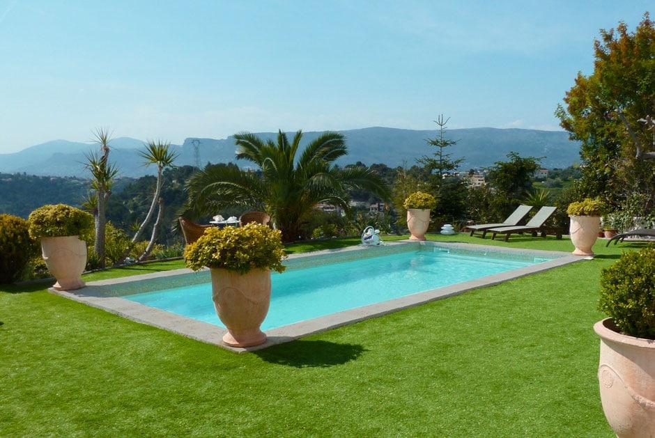 Photo piscine coque polyester - SPA Piscines Nice