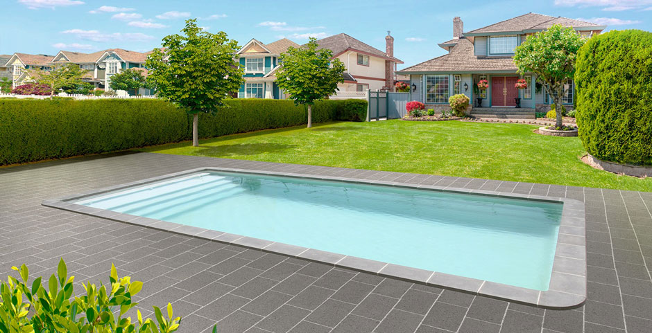 Piscine longueur 7m10 8m catalogue piscine spa piscines for Catalogue piscine