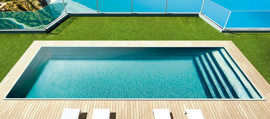 Photo piscine modèle WIDE - SPA Piscines