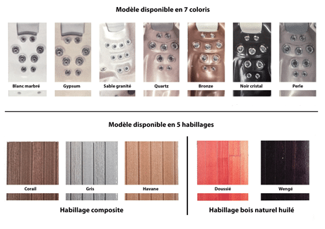 Modèles spa jacuzzi Nice - SPA Piscines